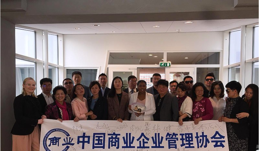 St. Maarten entrepreneur hosts Chinese delegation