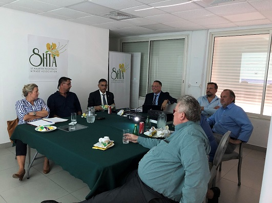 Minister Geerlings meets with SHTA to Inform about the Tax Transformation Plan to Secure the Country's Future
