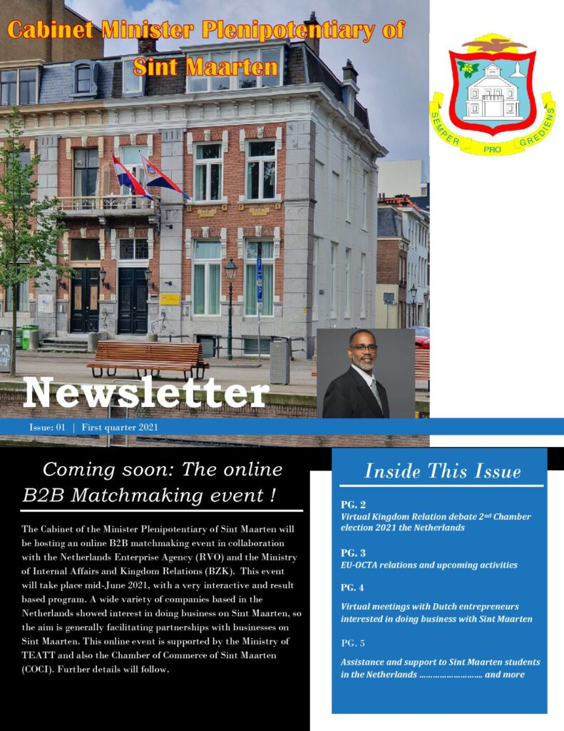 Newsletter Issue # 1